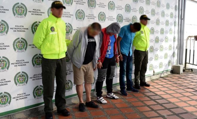 Resultado de imagen para Por diferentes delitos capturados por unidades de la Policìa Metropolitana de Pereira