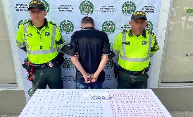 Dos hombres fueron capturados por esta actividad delictiva