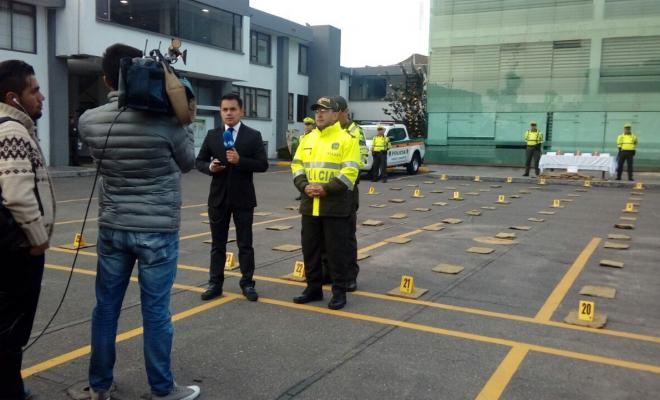 Polic a cundinamarca asest duro golpe a las rutas del microtr fico en el departamento polic a - Oficina del policia ...