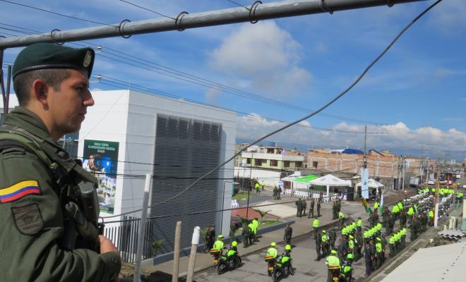 Ceremonia de inauguración UBIC Ipiales