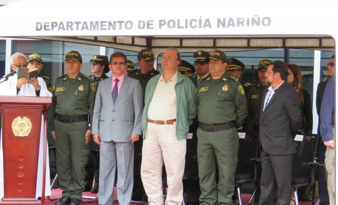 Autoridades que asistieron al evento