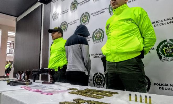Acción integral para la reducción del delito de homicidio y porte ilegal de armas en Medellín