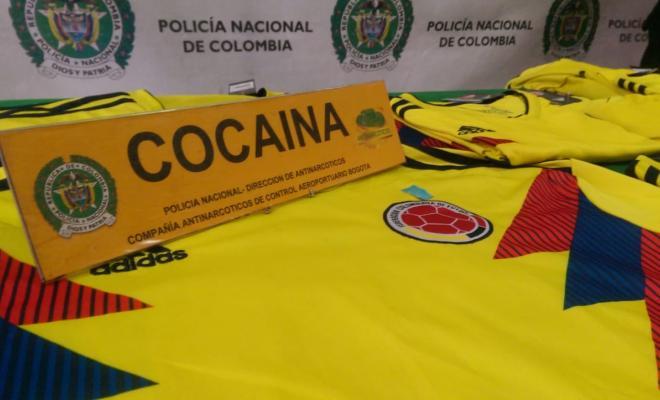 Incautamos-14-camisetas-de la-selección-Colombia-impregnadas-con-cocaína