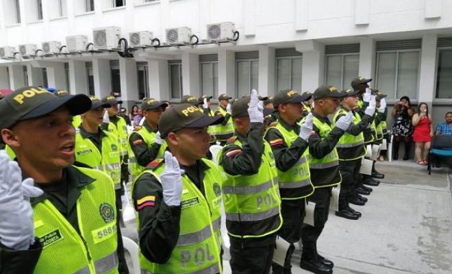 33 nuevos auxiliares de Policía servirán a Risaralda