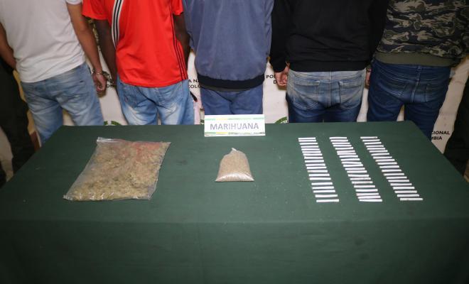 Presuntos integrantes de la organización 'delincuencial la capilla'