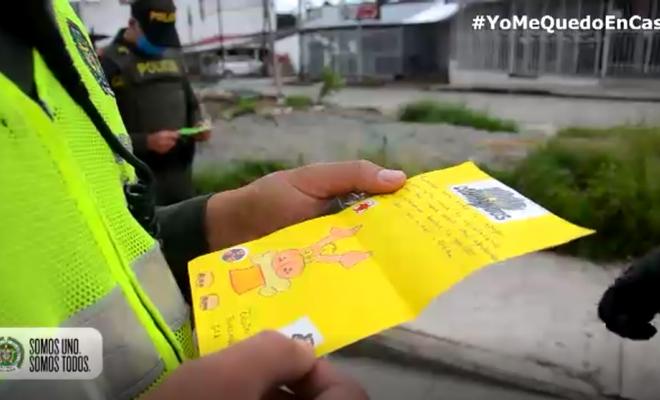 Los niños y niñas agradecen a los héroes de Colombia5