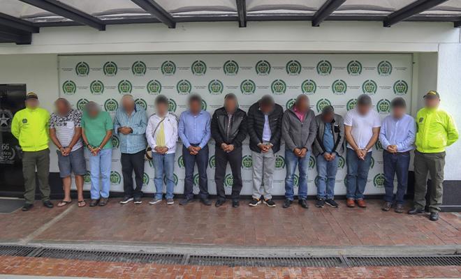 Cayeron 36 ciudadanos requeridos en extradición