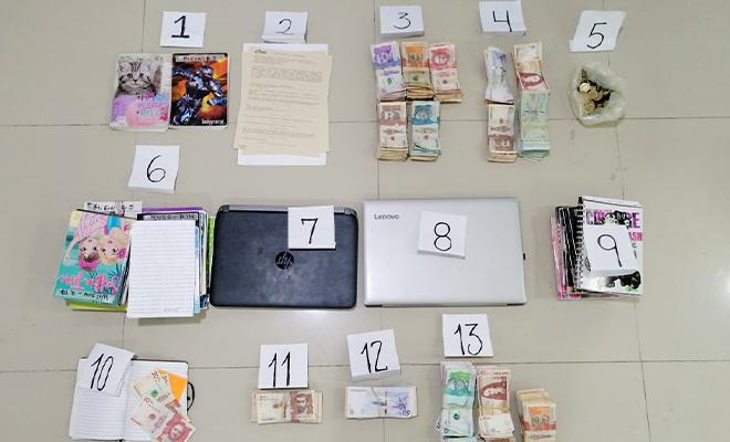Desarticulada organización delincuencial dedicada a préstamos 'Gota a Gota'