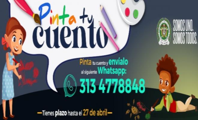 Bienvenidos a #PintaTuCuento