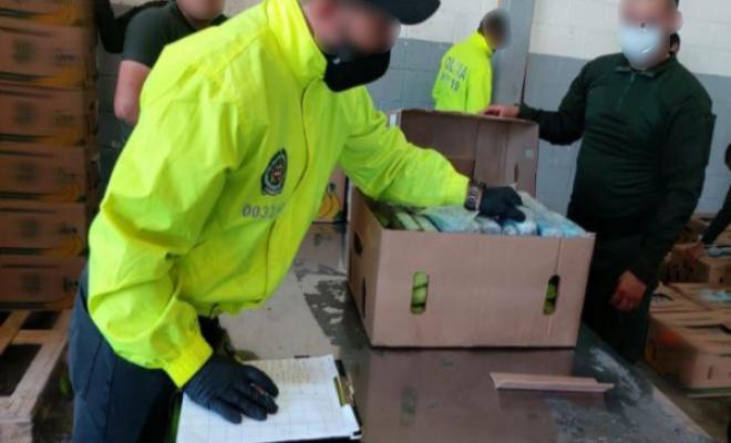 Logramos evitar el envío de clorhidrato de cocaína a Bélgica