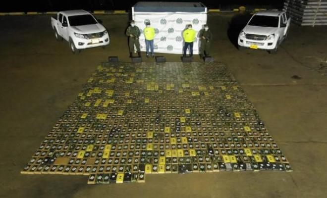 Frustramos el envío de más de una tonelada de cocaína a Francia
