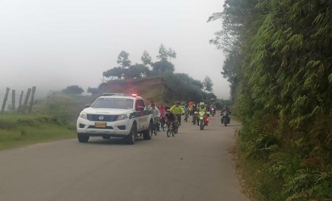 Ciclovía con nuestra Policía Tolima