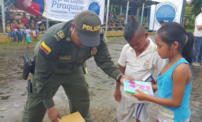 Fundación internacional maría luisa de moreno apoyó la actividad