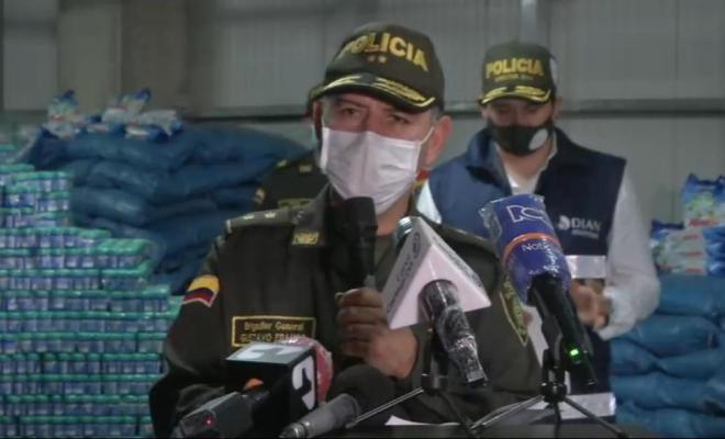 Rueda de prensa Cartagena contrabando