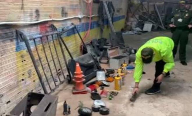 policia_ubica_desguazadero_de_vehículos_en_soacha
