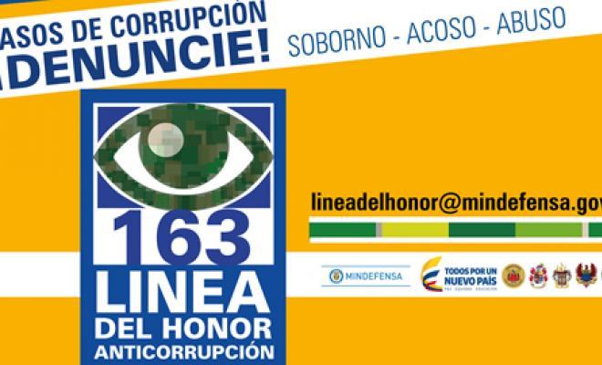LINEA DE HONOR-DENUNCIE-163-MINDEFENSA-POLICIA