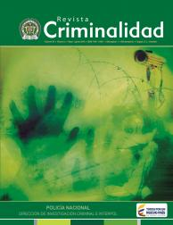 Revista de criminalidad Volumen 58 No. 2