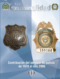 Revista de criminalidad Volumen 60 No. 1