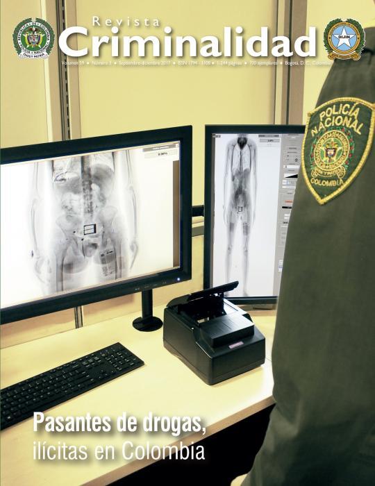 Revista de criminalidad Volumen 59 No. 3