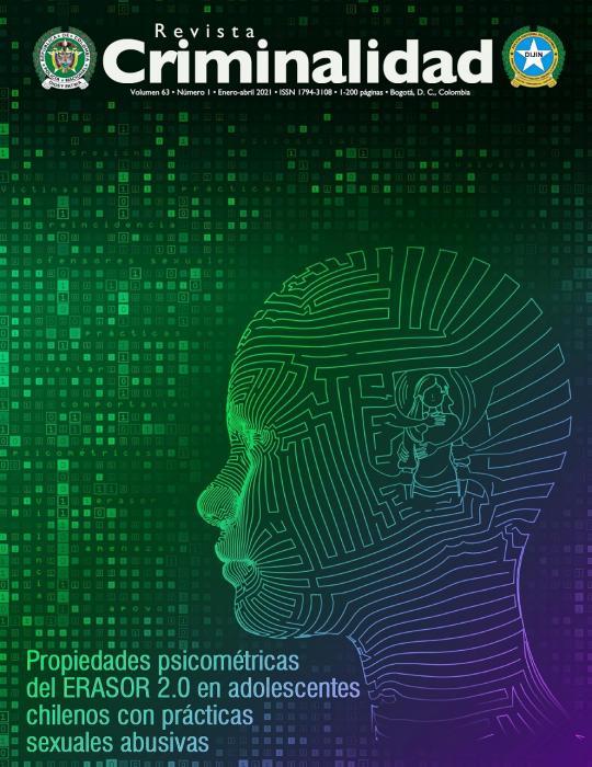 Revista Criminalidad volumen 63 No. 1