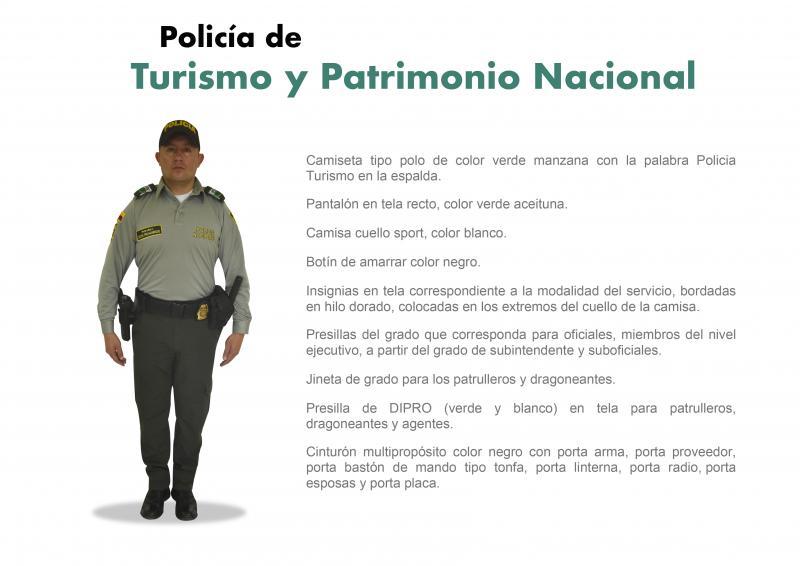 Uniforme del Turismo - Policía Nacional